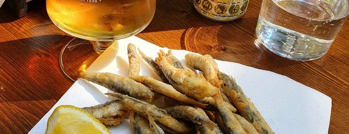 Pescadito Frito is one of Bcn secrets.