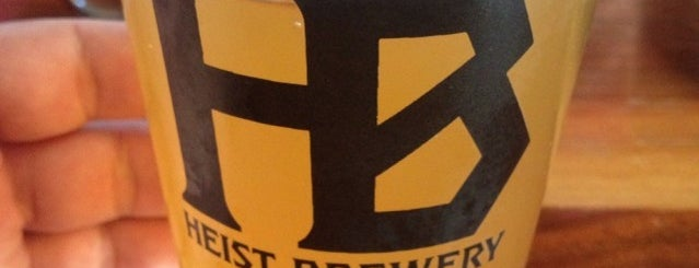 Heist Brewery is one of Breweries I've been to.