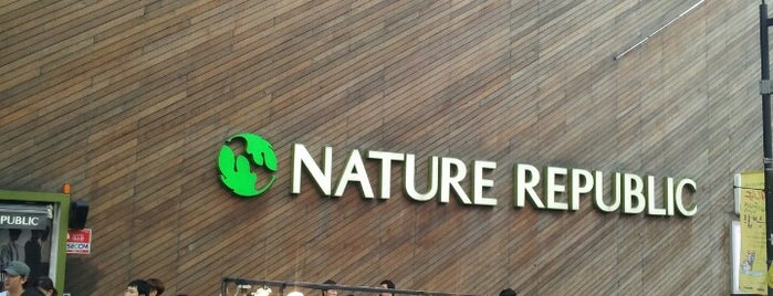Nature Republic is one of Seoul.
