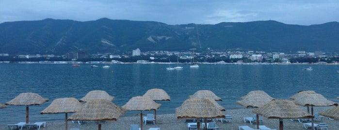 Пляж «Сады Морей» is one of Lugares favoritos de Георгий.