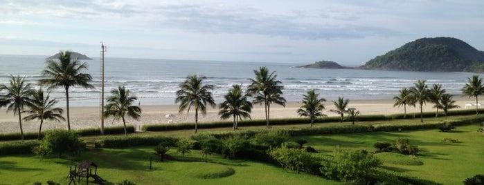 Canto Direito Praia de Riviera de São Lourenço - Surf Spot is one of Tempat yang Disukai Lari.