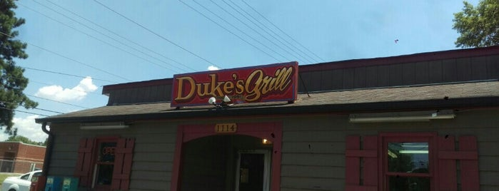 Duke's Grill is one of CLT.