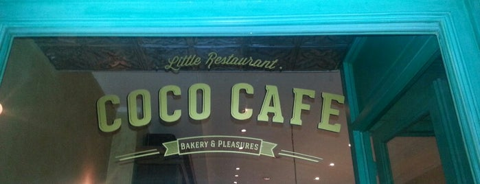 Coco Café is one of Santiago 님이 좋아한 장소.