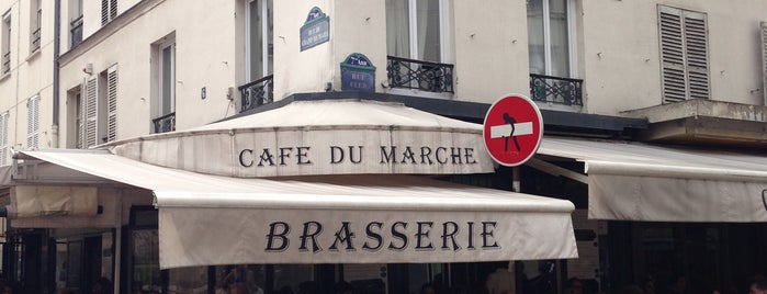 Café du Marché is one of Three Jane's Guide to Paris.