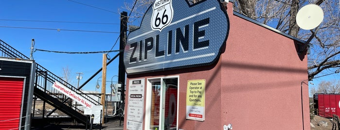 Route 66 Zipline is one of jxu bucketlist.