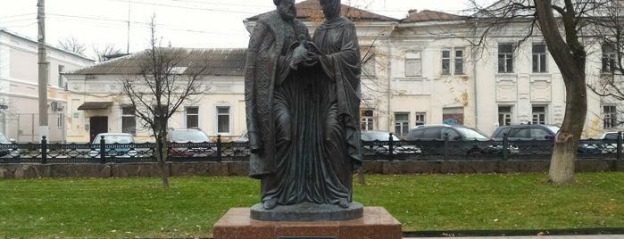 Памятник Петру и Февронии is one of Lieux qui ont plu à Alexandr.