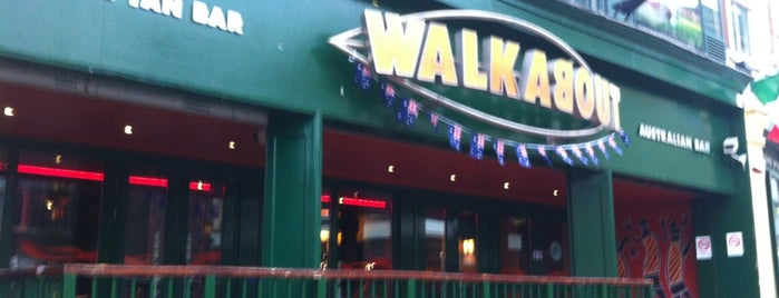 Walkabout is one of Lugares favoritos de Sergio.