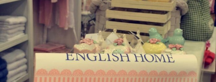 English Home is one of Istanbul |Shopping|.