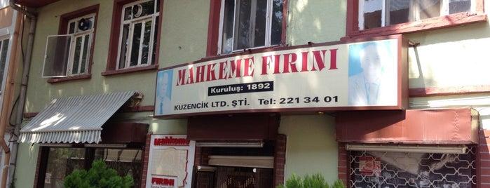 Mahkeme Fırını is one of Bursa: Dadından Yenmez Lezzetler.