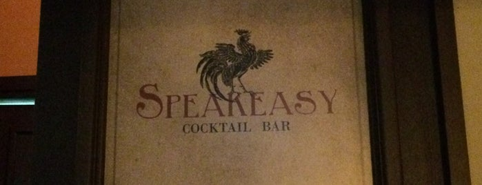 Speakeasy is one of Lieux sauvegardés par Tim.