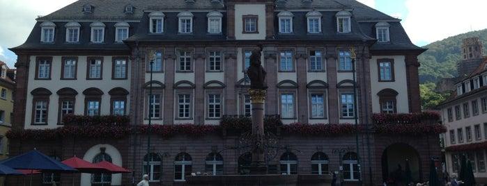 Ayuntamiento de Heidelberg is one of Lugares guardados de Andrew.