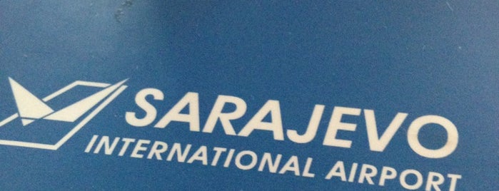 Sarajevo International Airport (SJJ) is one of Airports Europe.