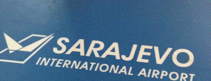 Aeropuerto Internacional de Sarajevo (SJJ) is one of Airports Europe.
