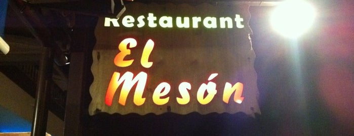 El Meson is one of Locais salvos de Mariana Tarabrina.