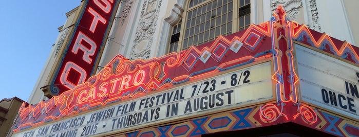 Castro Theatre is one of SFO.