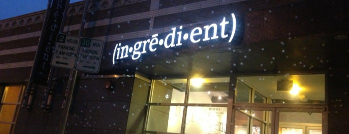 Ingredient is one of KC Restaurants.