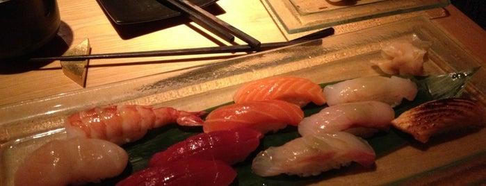 Sushi Azabu is one of linner.
