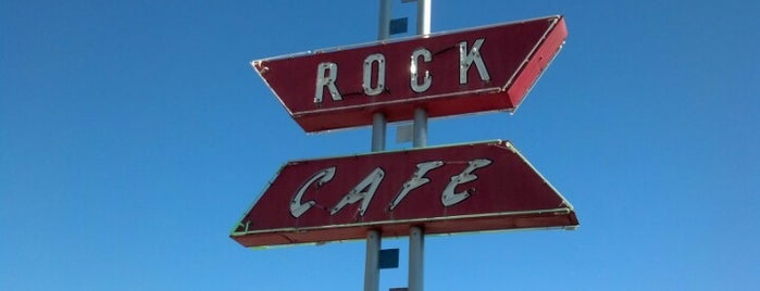 Rock Cafe is one of Ruta 66.