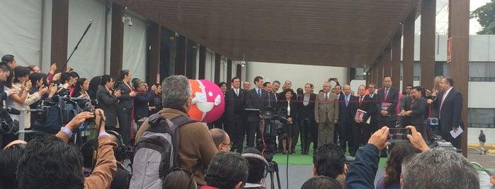 Macrosala De Prensa Instituto Nacional Electoral is one of Posti che sono piaciuti a R.