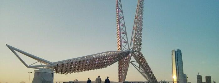 SkyDance Bridge is one of Oklahoma City.