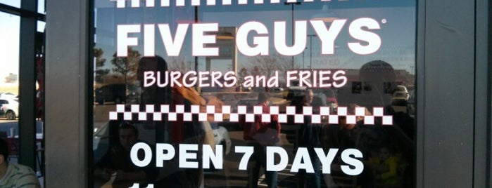 Five Guys is one of places to try.