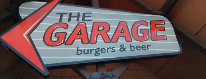 The Garage Burgers & Beer is one of GLM.