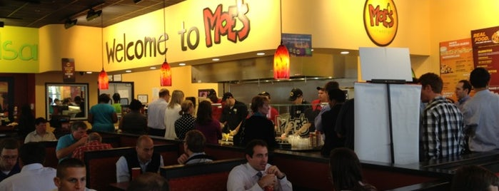 Moe's Southwest Grill is one of barry.