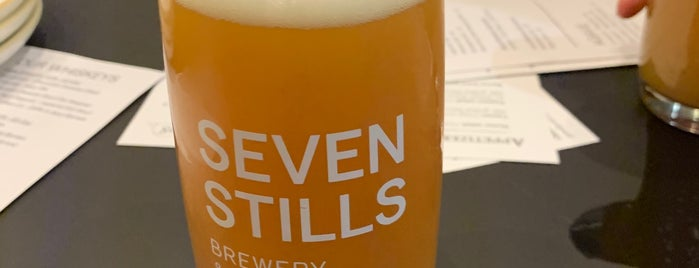 Seven Stills Brewery & Distillery is one of An Arty Elitist's Guide to San Francisco.