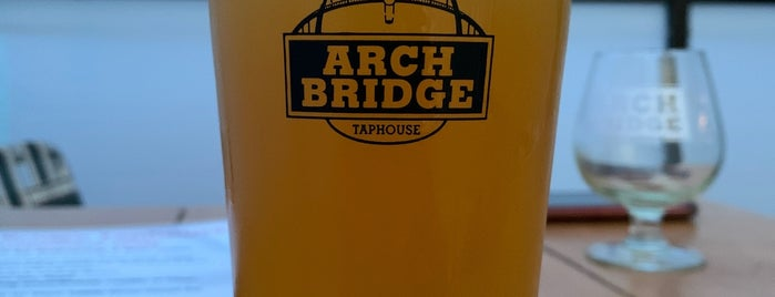 Arch Bridge Taphouse is one of PDX.