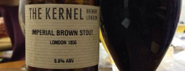 The Kernel Brewery is one of Grouper Loves London.