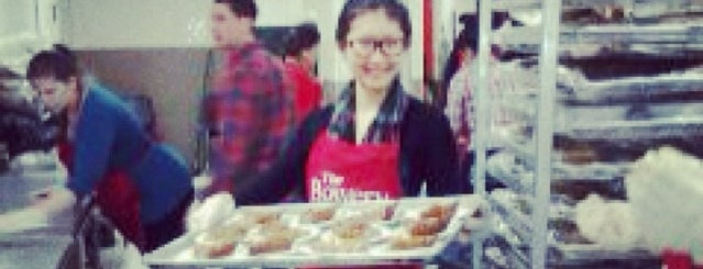 The Bowery Mission is one of NYC Food Pantries.