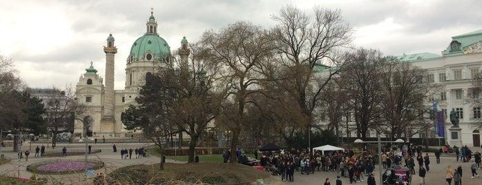 Karlsplatz is one of Anti-crisis Eurotrip.