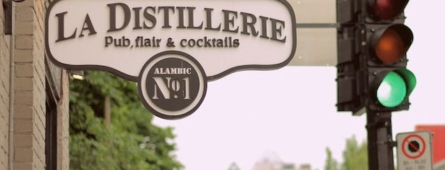 La Distillerie No. 1 is one of Montreal Wish List.
