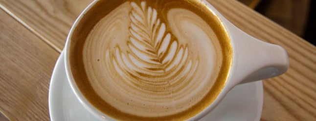 Happy Coffee is one of Thrillist's Best Day of Your Life: Denver.