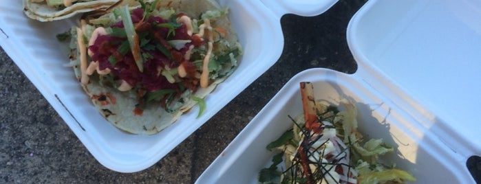 Fliptop Filipino Fusion is one of The best Vancouver food trucks.