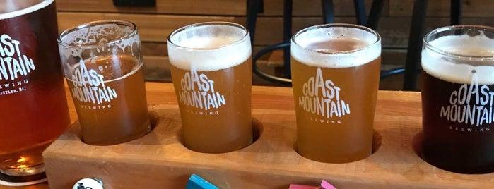 Coast Mountain Brewing is one of Tempat yang Disimpan Dan.