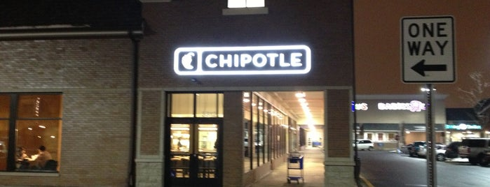 Chipotle Mexican Grill is one of Locais curtidos por Bill.