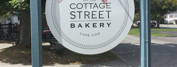 Cottage Street Bakery is one of Cape Cod Done Right.