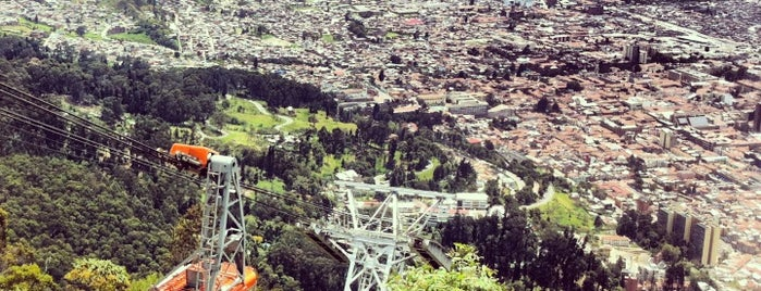 Teleférico de Monserrate is one of Colombia.