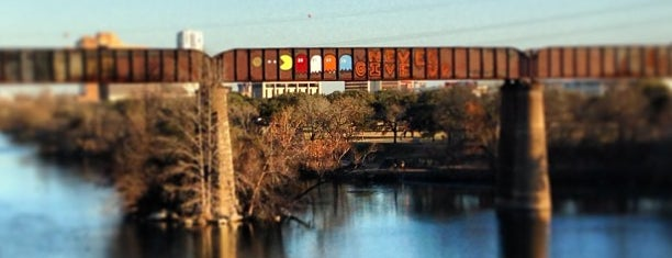 Lady Bird Lake Trail is one of SXSW 2013.