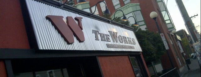 The Works is one of Arthur's Fun Places to Eat! ☆☆☆☆.