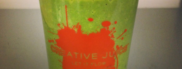 Creative Juice - 50th Street is one of Follow-Me Spots.