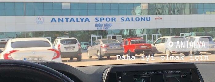 Antalya Spor Salonu is one of Alper'in Beğendiği Mekanlar.