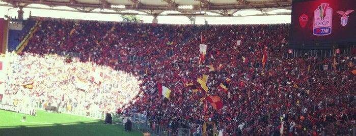 Stadio Olimpico is one of Rome.