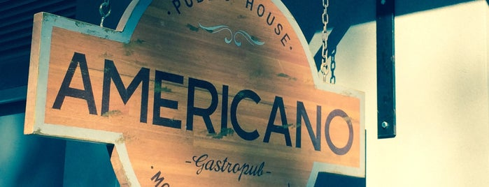 Bar Americano is one of Montevideo.