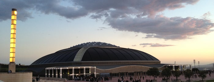 Palau Sant Jordi is one of Barcelona.