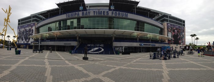 Amalie Arena is one of NHL~2014 Venues....