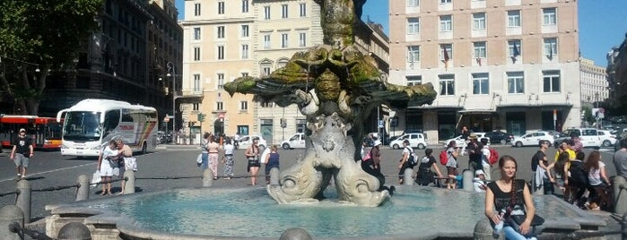Piazza Barberini is one of Roma.