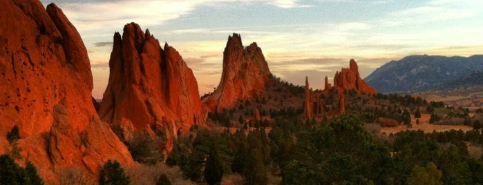 Garden of the Gods is one of A State-by-State Guide to America's Best Parks.