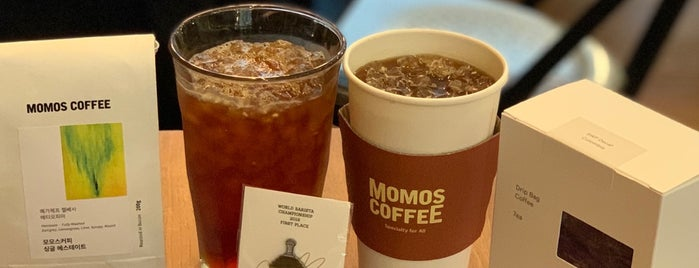 MOMOS COFFEE is one of More coffee.